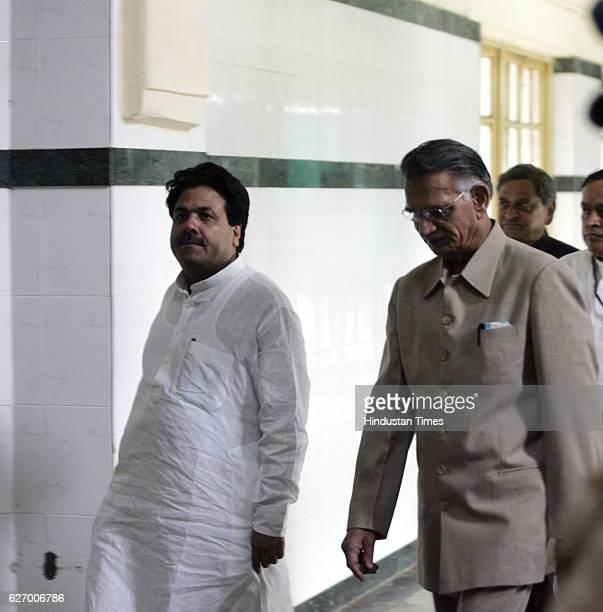 Mumbai Serial Bomb Blasts PM Manmohan Singh visits blasts victims at KEM Hospital Rajeev Shukla Shivraj Patil and state leaders accompanying him
