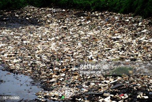 Mumbai's Dirt : Stock Photo