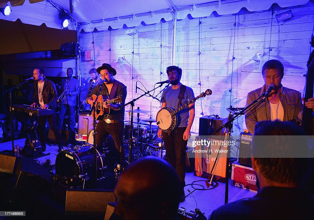 Mumford & Sons perform live at Soho House New York's 10th Birthday Celebration on August 22, 2013 in New York City.