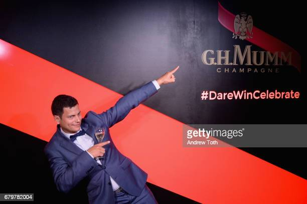 H Mumm Brand Director Louis de Fautereau attends GH Mumm and Usain Bolt's Toast to the Kentucky Derby on May 6 2017 in New York City