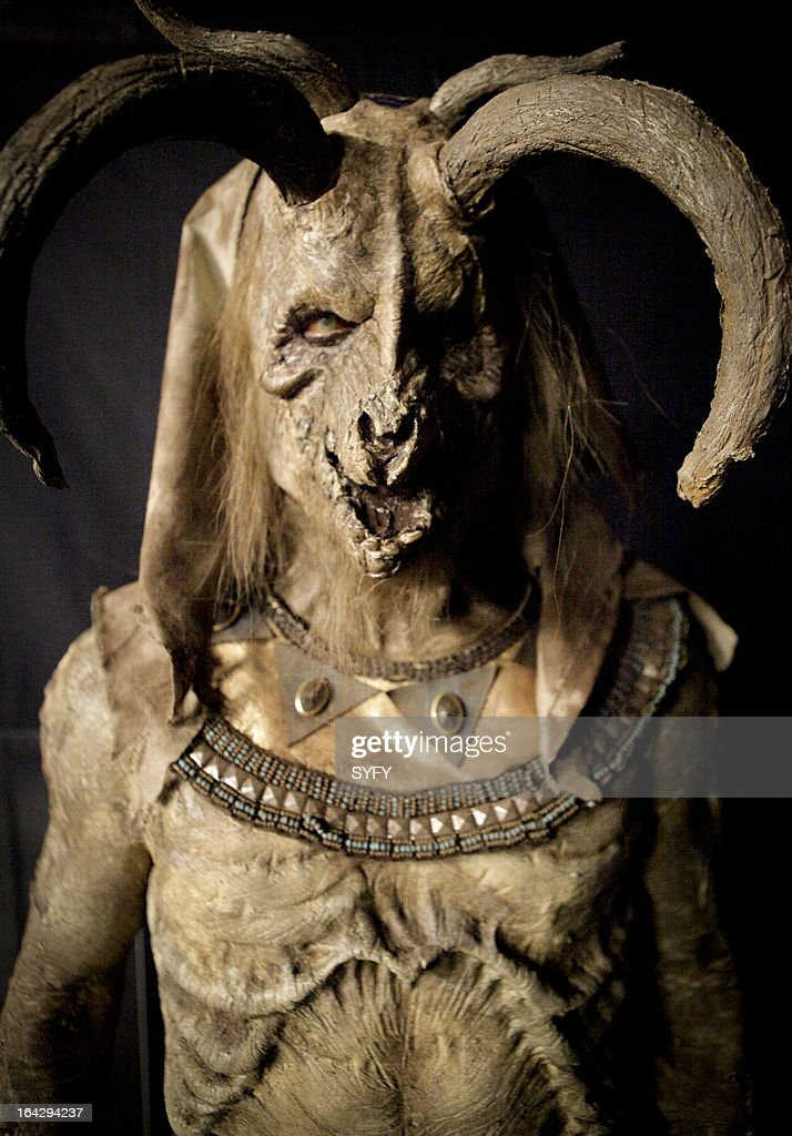 OFF -- 'Mummy Mahem' Episode 409 -- Pictured: makeup by Kris Kobzina --