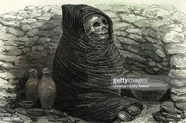 Mummy Of An Aymara Indian Peru