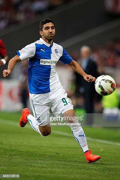 Munas Dabbur of Grasshopper in action during the UEFA Champions League third qualifying round 2nd leg match between LOSC Lille and Grasshopper Club...