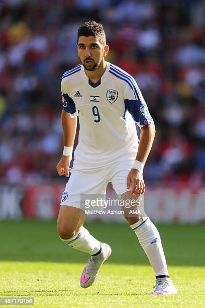 Munas Dabbur of Israel during the UEFA Euro 2016 Group B qualifying match between Wales and Israel on September 6 2015 in Cardiff United Kingdom
