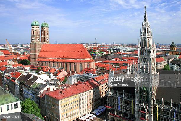 Munchen cityscape
