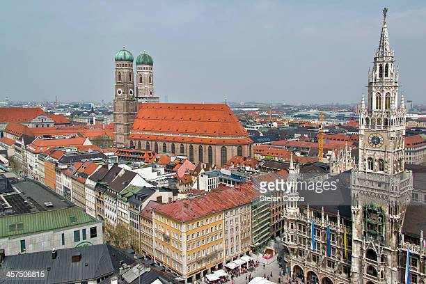 Munchen's Dom and City Hall | Germany