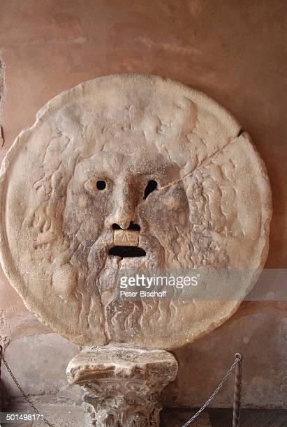 Mund der Wahrheit bei Kirche 'Santa Maria in Cosmedin' Rom Italien Europa Reise BB DIG PNr 611/2008