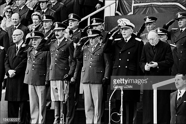 Mundial 1978 11th World Soccer Cup in Buenos Aires Argentina on May 01 1978 11th World Cup Soccer opening ceremony with Argentinean General Videla