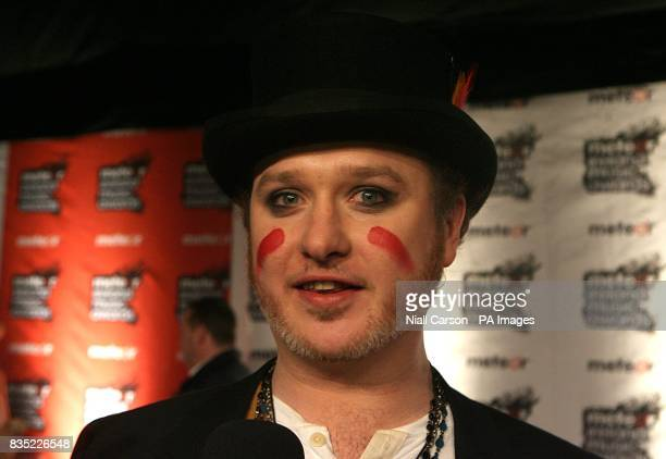 Mundy arriving at the Meteor Ireland Music Awards 2009 at the RDS Dublin Ireland