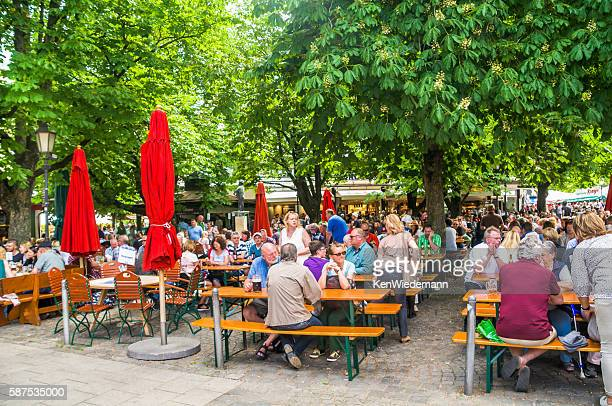 Munich Beer Garden