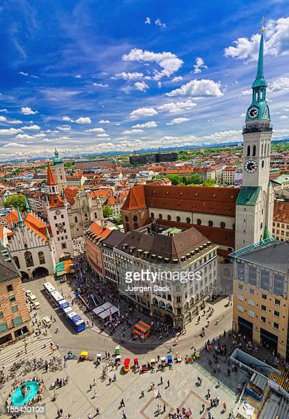 Vista a la ciudad de Munich