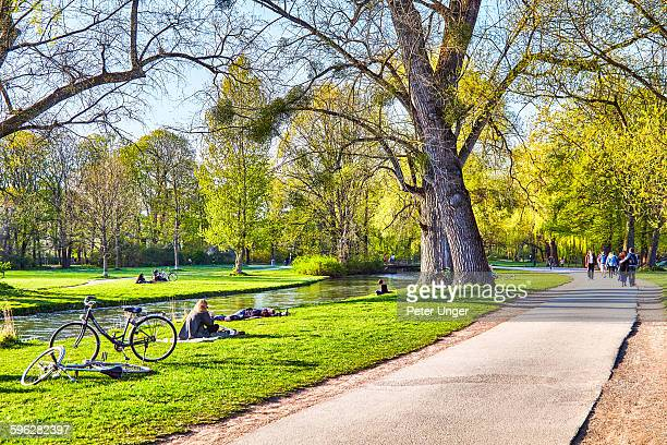 Munich English Garden (Englisher Garten)