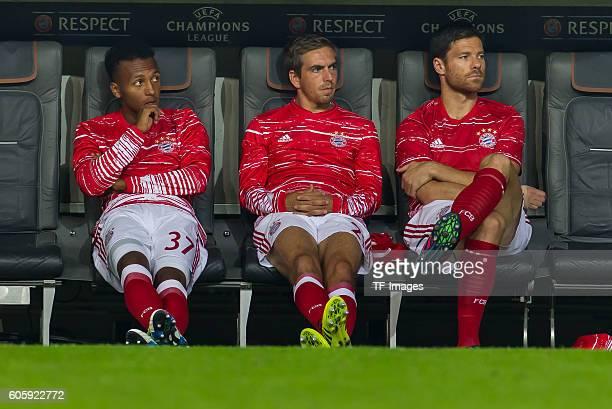 Munich Germany UEFA Champions League 2016/17 Season Group D Matchday 1 FC Bayern Muenchen FC Rostov vl Julian Green Philipp Lahm Xabi Alonso