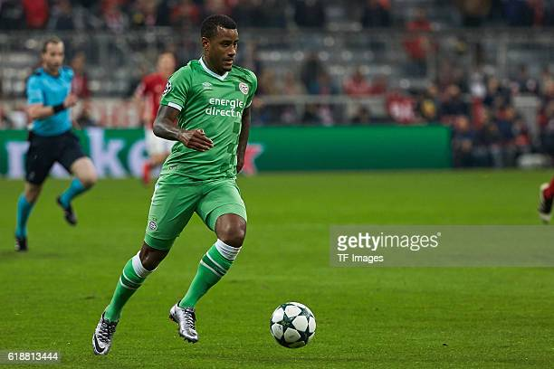 Munich Germany UEFA Champions League 2016/17 Season Group D Matchday 3 FC Bayern Muenchen PSV Eindhoven Luciano Narsingh