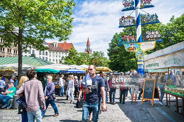 Münchner Viktualienmarkt
