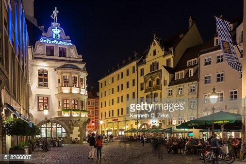 Munich's Hofbrauhaus : Stock Photo