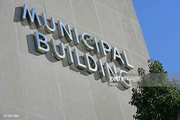 Gros plan de construction Municipal