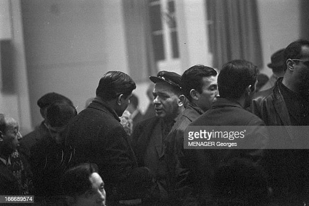 Municipal Elections In Marseille In March 1965 En France élections municipales de mars 1965 à Marseille Lors de la campagne électorale réunion du...