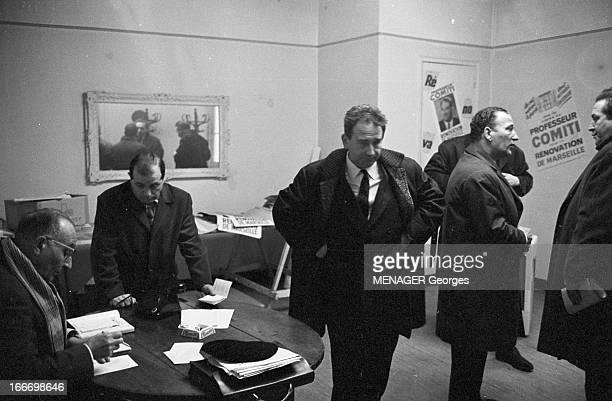 Municipal Elections In Marseille In March 1965 En France élections municipales de mars 1965 à Marseille Pendant la campagne électorale le candidat...