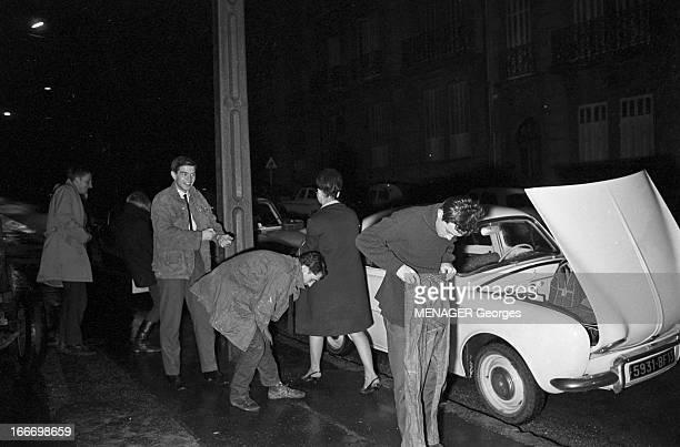 Municipal Elections In Marseille In March 1965 En France élections municipales de mars 1965 à Marseille Pendant la campagne électorale la nuit des...