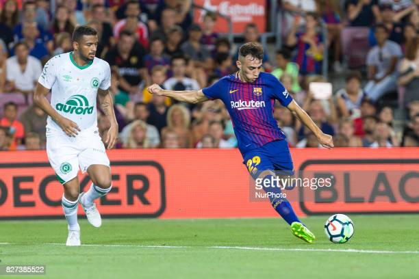 Munir during the match between FC Barcelona vs Chapecoense for the Joan Gamper trophy played at Camp Nou Stadium on 7th August 2017 in Barcelona Spain