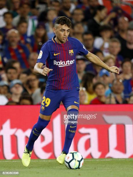 Munir El Haddadi of FC Barcelona during the Trofeu Joan Gamper match between FC Barcelona and Chapecoense on August 7 2017 at the Camp Nou stadium in...