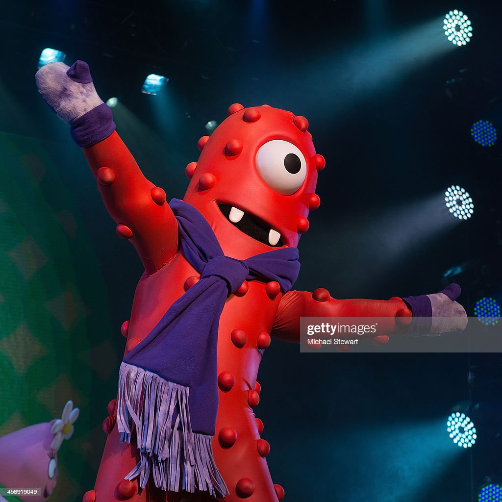 Muno performs during 'Yo Gabba Gabba! Live!' at The Beacon Theatre on December 22, 2013 in New York City.
