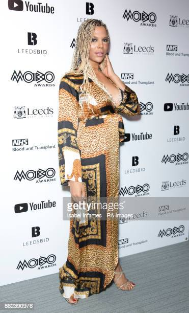 Munroe Bergdorf attending the Mobo Awards 2017 Nominations at the YouTube Space London