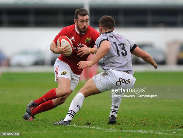 Munster As JJ Hanrahan in action during todays match during The British Irish Cup Pool 1 match between Ospreys Premiership Select and Munster A at St...