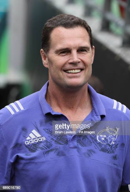 Munster director of rugby Rassie Erasmus in the tunnel ahead of the Guinness Pro12 final at the Aviva Stadium Dublin