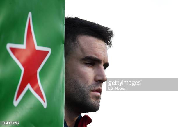 Munster Ireland 1 April 2017 Conor Murray of Munster during the European Rugby Champions Cup QuarterFinal match between Munster and Toulouse at...