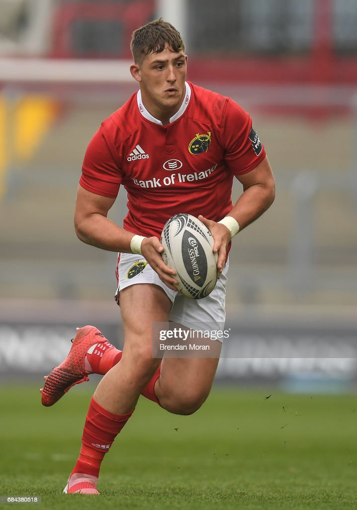 Munster , Ireland - 6 May 2017; Dan Goggin of Munster during the Guinness PRO12 Round 22 match between Munster and Connacht at Thomond Park, in Limerick.