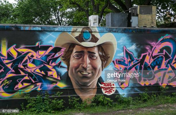 A mural adorns the side of a 6th Street building on April 14 in Austin Texas Austin the State Capital of Texas the state's second largest city and...