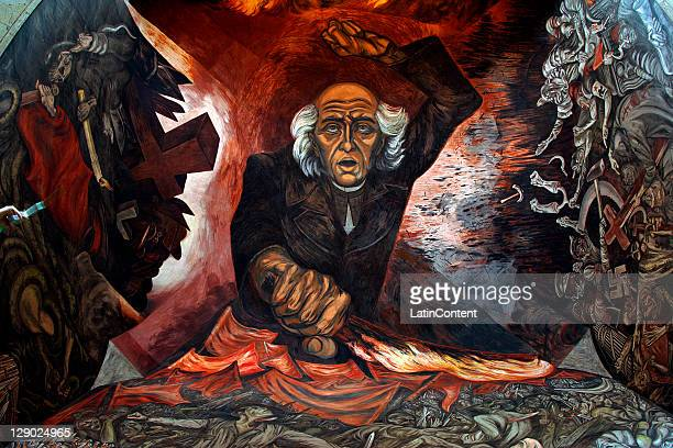 Jose clemente orozco stock photos and pictures getty images for Aviso de ocasion mural guadalajara