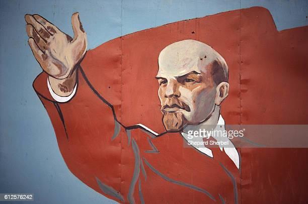 Mural of Vladimir Lenin