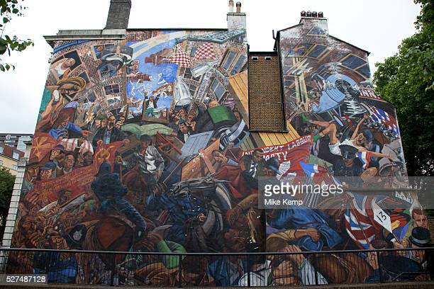 Blackshirts stock photos and pictures getty images for Battle of cable street mural