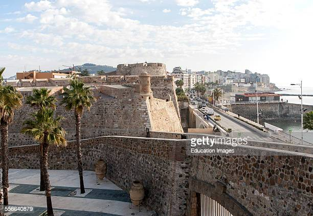 Muralla Real historic fortress Ceuta Spanish territory in north Africa Spain