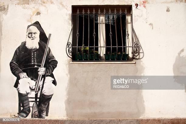 Murals Orgosolo Sardinia Italy