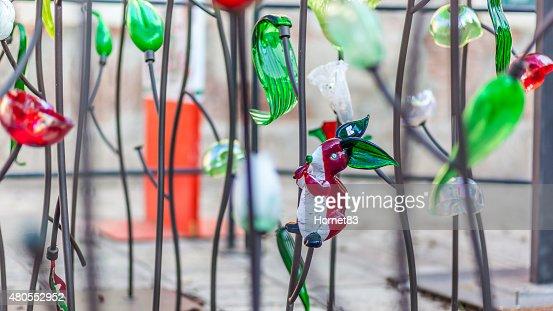 Murano vidro coelho : Foto de stock