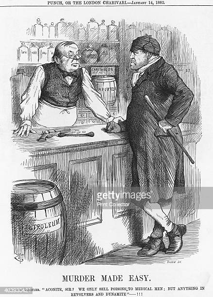 'Murder Made Easy' 1882 From Punch or the London Charivari January 14 1882