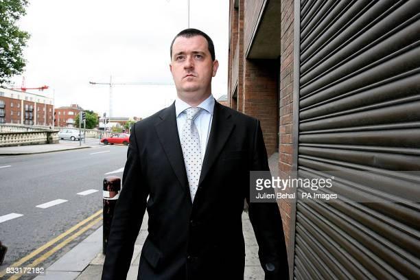 Murder suspect Joe O'Reilly arrives at the Central Criminal Court Dublin