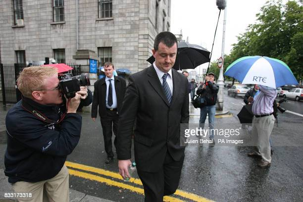 Murder suspect Joe O'Reilly leaves Central Criminal Court in Dublin today