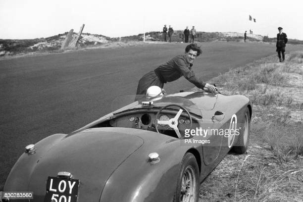 Murdered racing driver and motor engineer David Blakely Model Ruth Ellis of Egerton Gardens Kensington in London has been charged with the killing