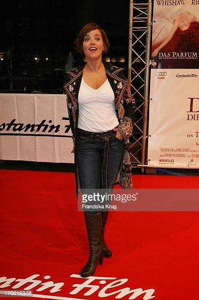 Muriel Baumeister at The Premiere Of 'The Perfume' in Berlin Cinestar