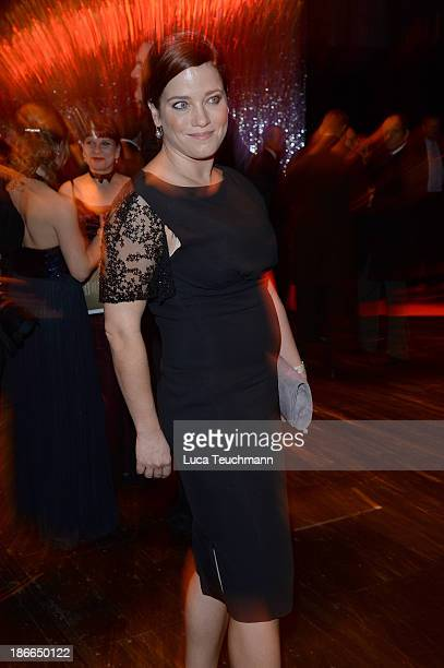 Muriel Baumeister attends the 20th AIDS Gala at the at Deutsche Oper Berlin on November 2 2013 in Berlin Germany