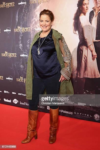 Muriel Baumeister attends the 'Das Kalte Herz' premiere at Kino International on October 4 2016 in Berlin Germany