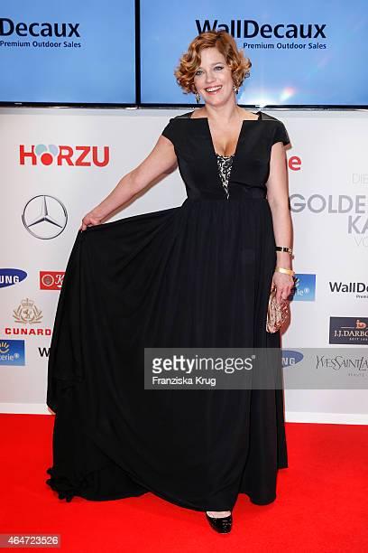Muriel Baumeister attends the Goldene Kamera 2015 on February 27 2015 in Hamburg Germany