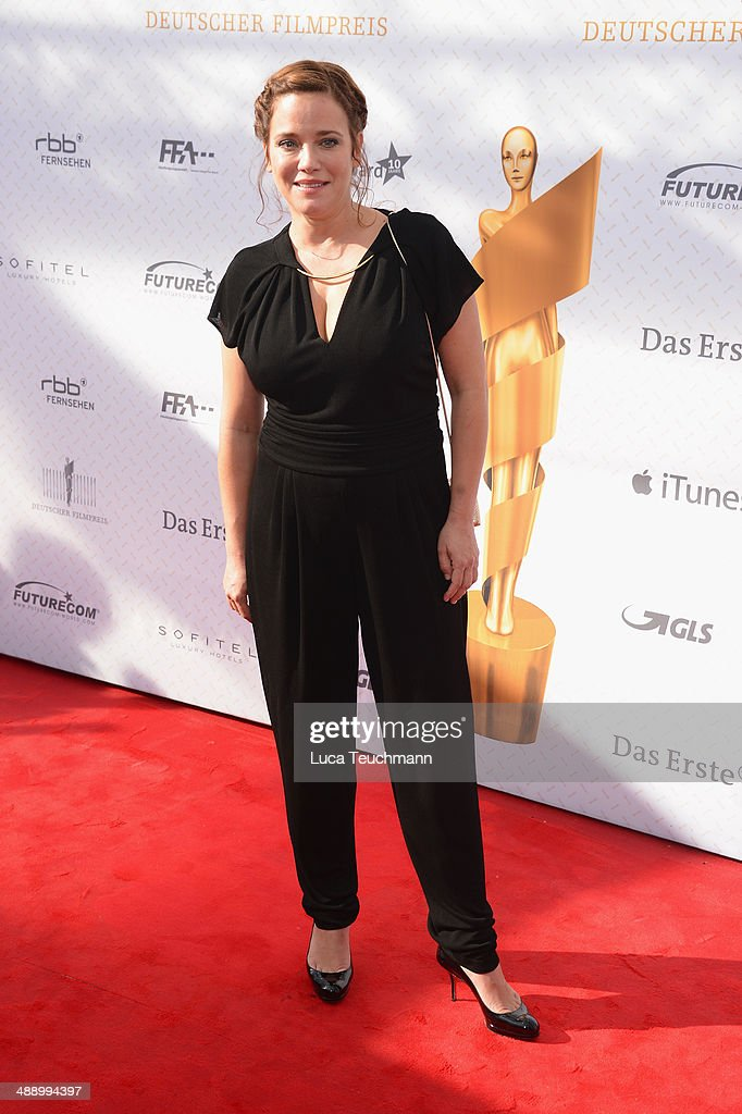 <a gi-track='captionPersonalityLinkClicked' href=/galleries/search?phrase=Muriel+Baumeister&family=editorial&specificpeople=221384 ng-click='$event.stopPropagation()'>Muriel Baumeister</a> attends the Lola - German Film Award 2014 at Tempodrom on May 9, 2014 in Berlin, Germany
