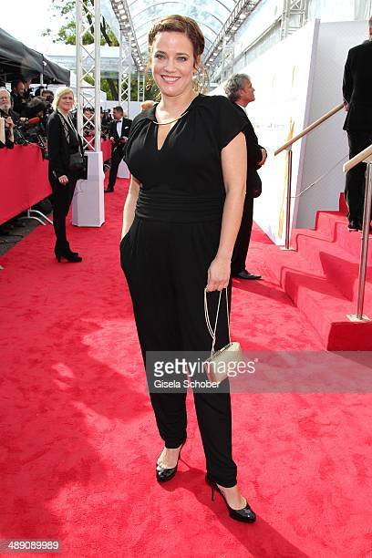Muriel Baumeister attends the Lola German Film Award 2014 at Tempodrom on May 9 2014 in Berlin Germany