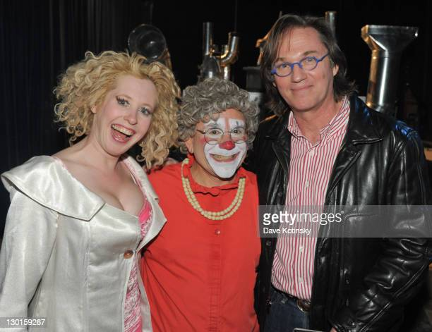 Muriel Brugman Mark 'Grandma' Gindick Richard Thomas attend 34th season Big Apple Circus Under the Big Top in Damrosch Park on October 23 2011 in New...